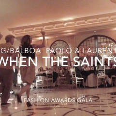 When The Saints Go Marching at Fashion Awards Gala