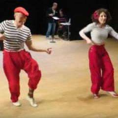 Swing Remix showcase of The Dean Collins Shim Sham